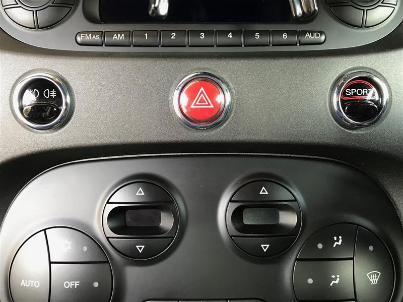 スポーツモードボタンの位置変更