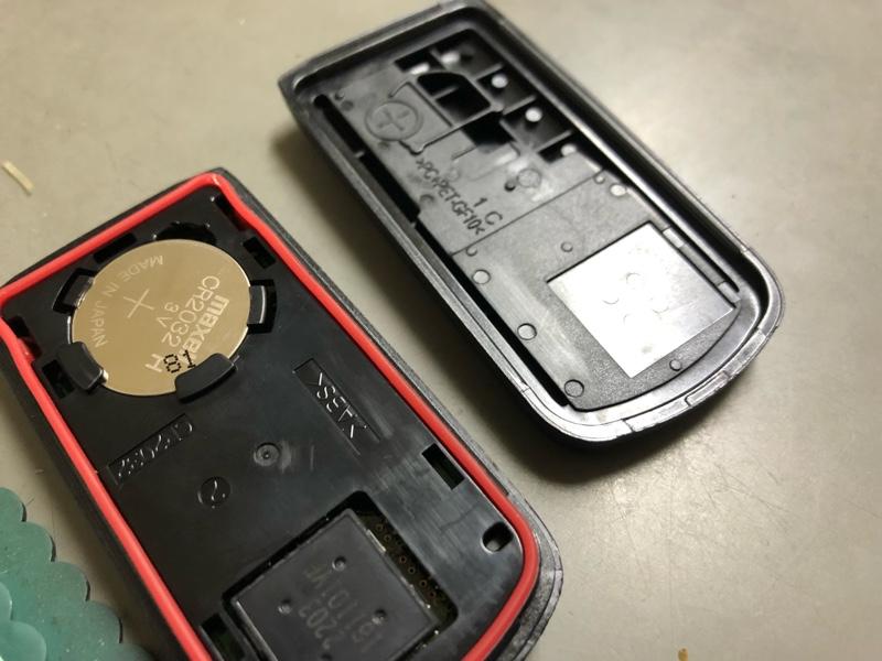 [予備整備] キーレス 電池交換