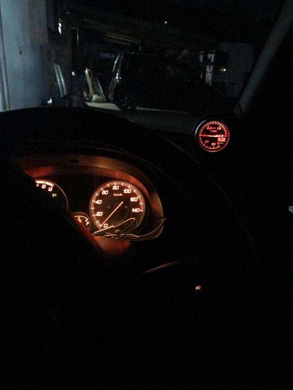 ブースト計(照明色変更)