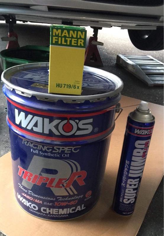 WAKO'S TRIPLE R 10W-40