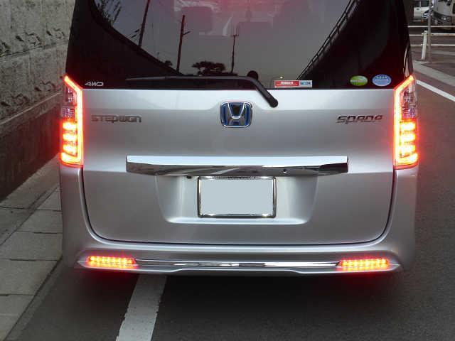 LEDリフレクター取付②