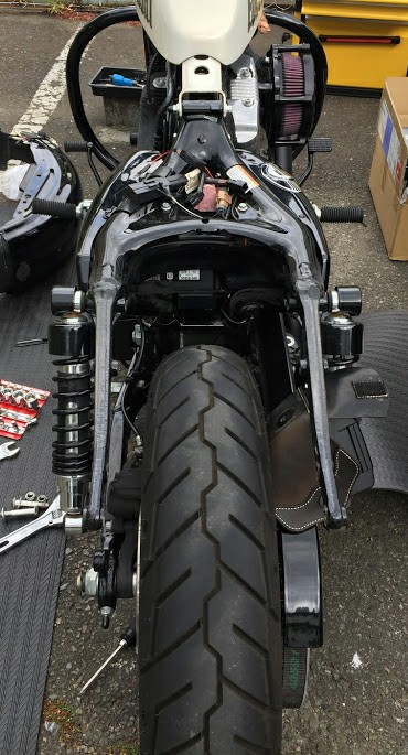 """GLEAMING WORKS """"SHORT RIB FENDER for XL"""" -WITH SID"""