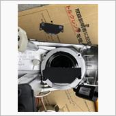 プロジェクターヘッドライト遮光板加工(完成編)