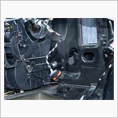 エアコンガス漏れ修理3(エバポレーターの掃除)