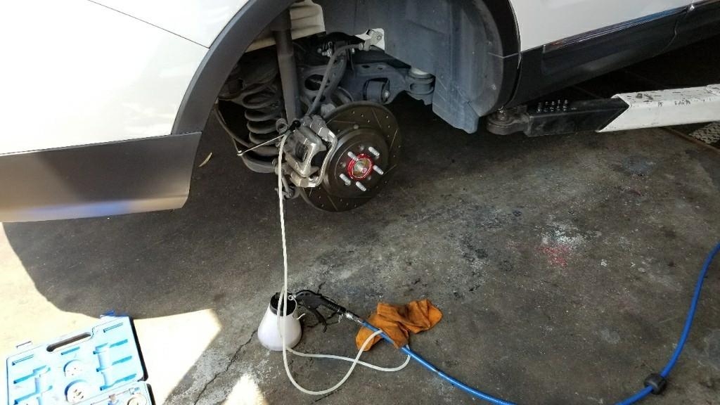 ブレーキバッド&ローター交換…とオマケ