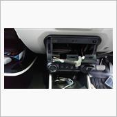 純正USBコネクターを社外ナビ用に加工の画像