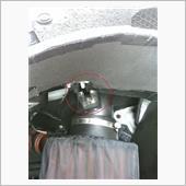 AEM COLD AIR SYSTEM マウントラバー破損の画像