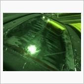 キイロビンゴールドでガラスのウロコ落とし⑵(みんカラモニター)の画像
