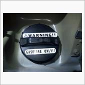 WARNING Fuelステッカー 自作の画像
