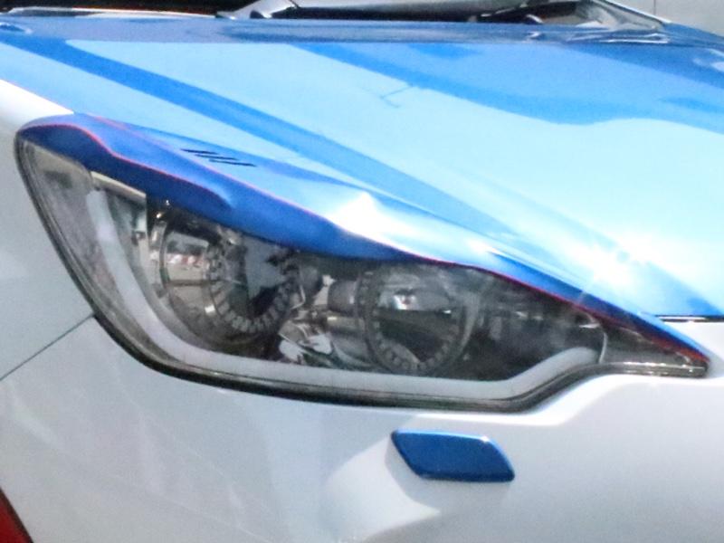 ヘッドライトインナー塗装