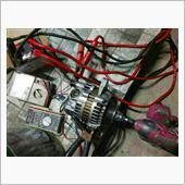 DA64V・エブリイ : 三菱電機製オルタネーター、非車載状態にて動作確認。の画像