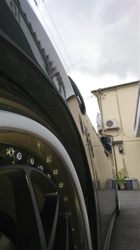 フェンダーF.R爪折り加工&骨格処理(移動)     【Tuning Garage REV】