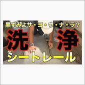 アルファードのシートレールカバーを洗浄!黒ずみよサヨウナラ![062]の画像