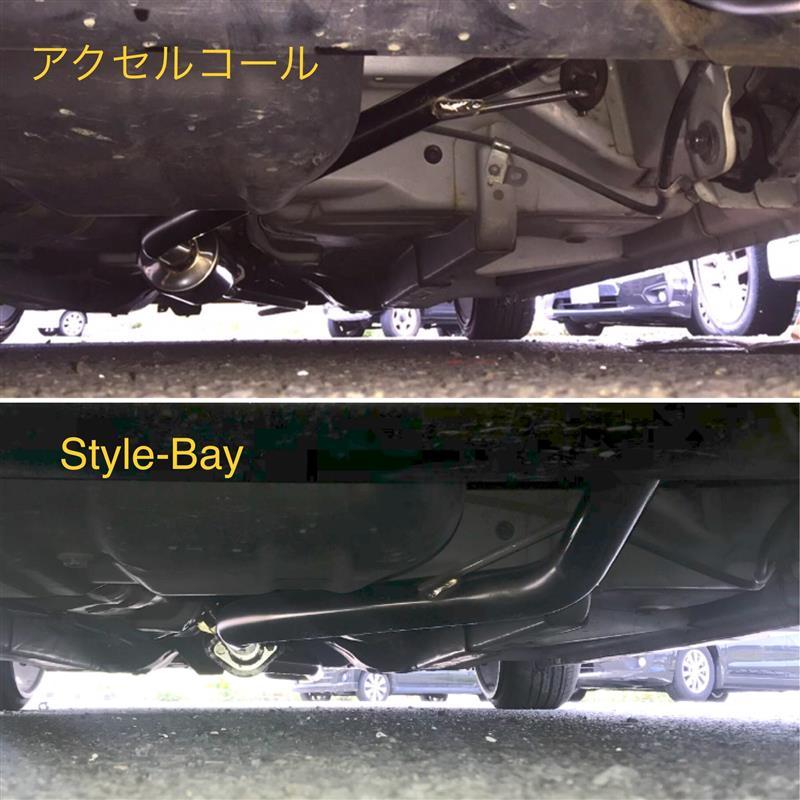 ストレートパイプ&ECV取り付け(超短縮)