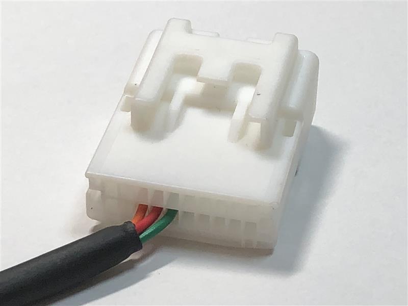 NHZN-W59Gステアリングスイッチケーブルの作成