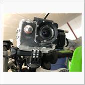 ドライブレコーダー(アクションカメラ)取り付け変更