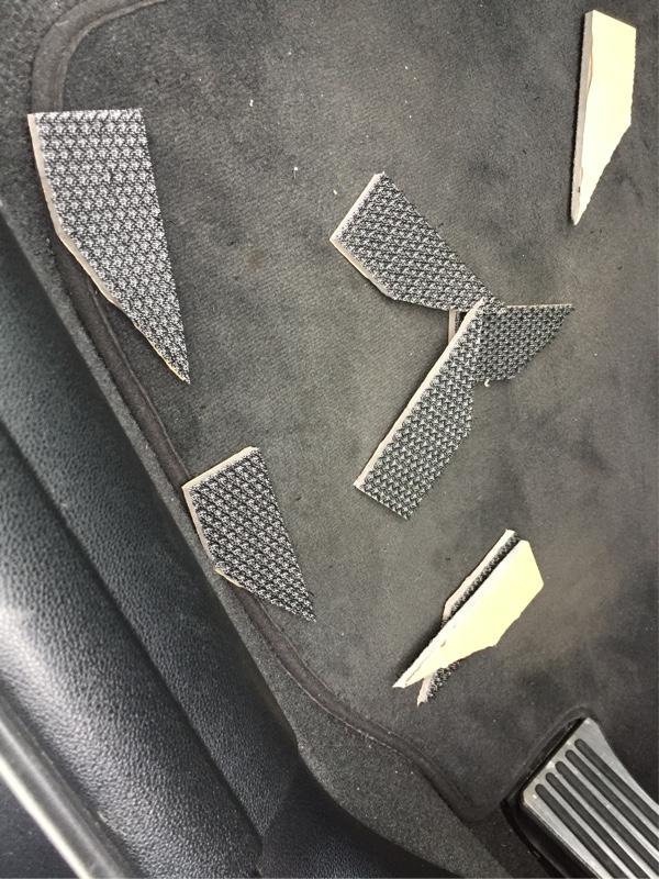 BMW E92 ロードノイズ遮音・防振(静音計画④)