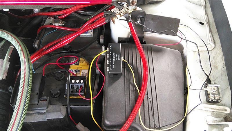 エンジン連動電源の変更