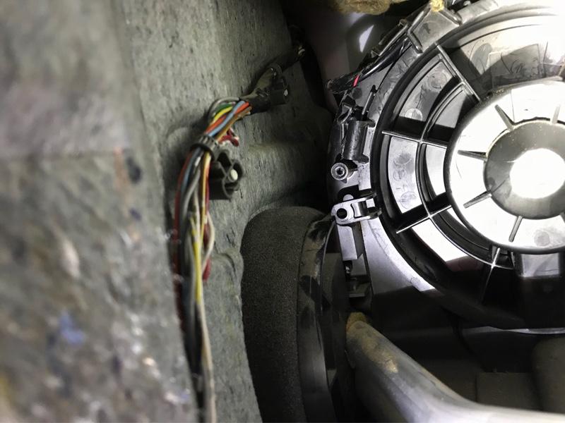 エアコン  フロントブロアモーター交換