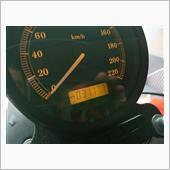 雨の中のユーザー車検……883R
