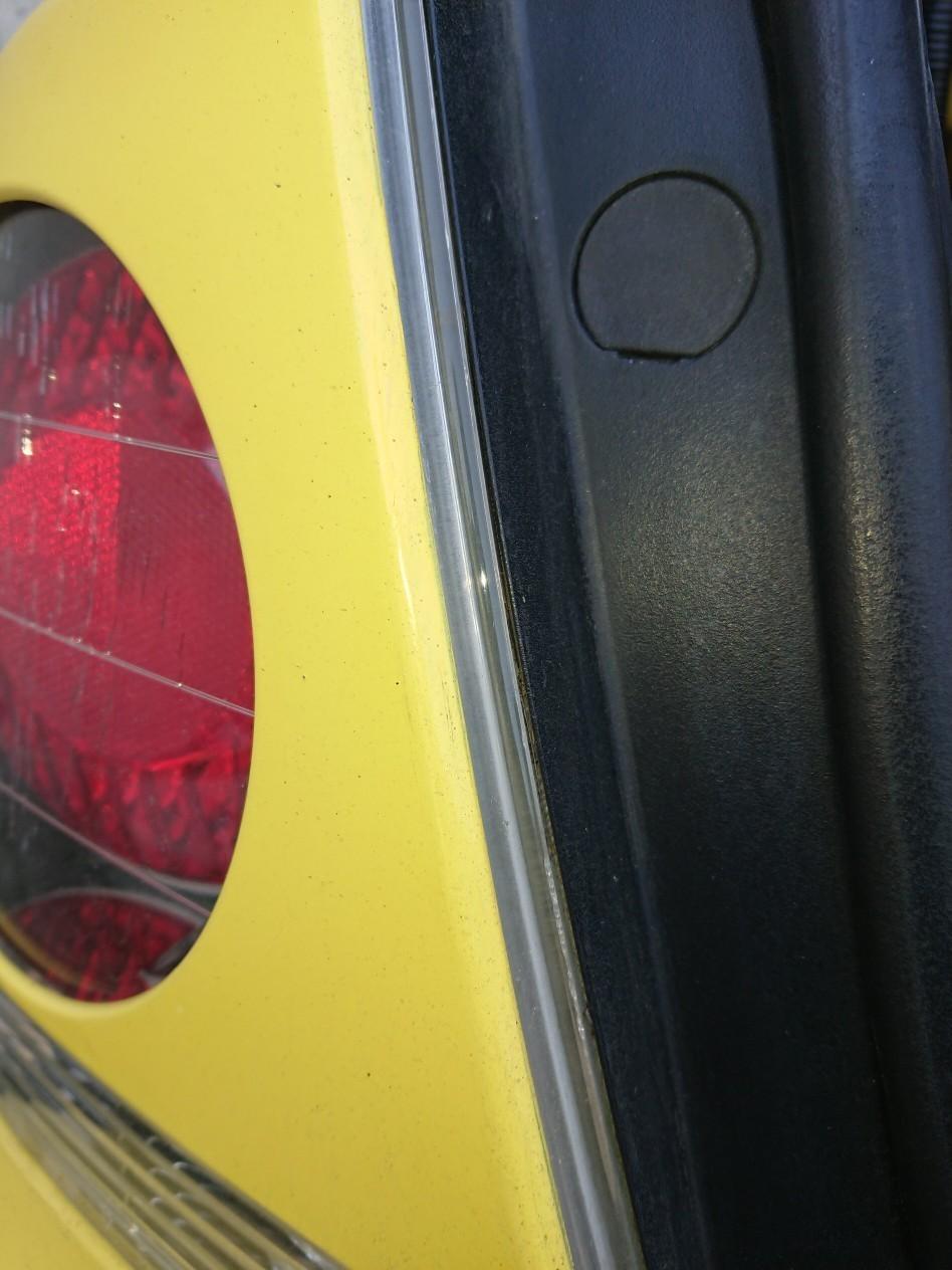 カバー付きテールランプをインナーブラックタイプに交換してみた!