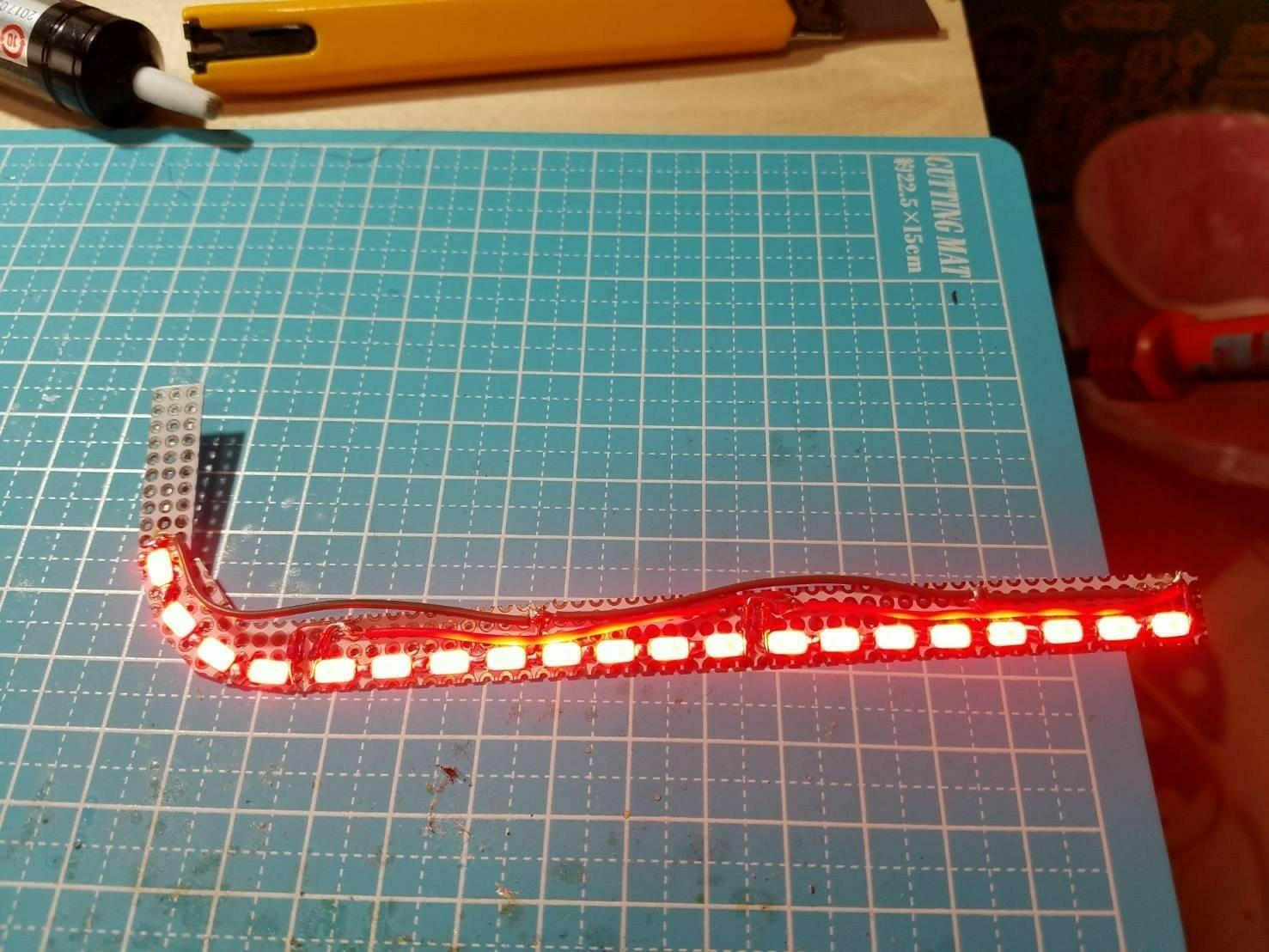 リフレクター自作LED