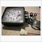 LED作業灯を装着(未完)