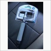 車の内窓クリーナーの画像