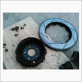 ブレンボディスクローター交換の画像