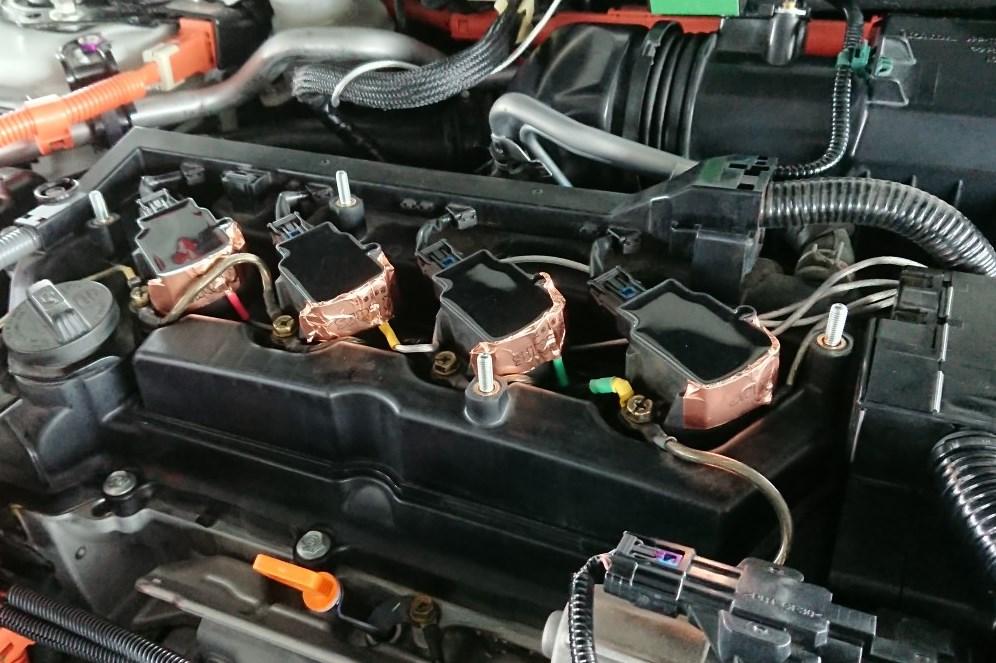3Q自動車 ダイモリィ取付けノ(´∀`*)デヘヘ