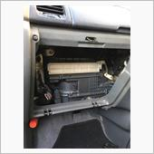 エアコンフィルター交換の画像