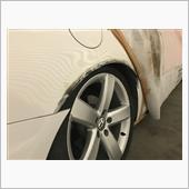 Rear fender arch raising process