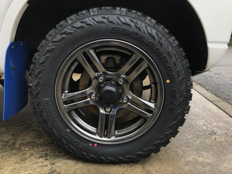 タイヤ買い換え