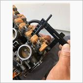 油面調整、プラグ交換、ハイテンションコード交換、チェーン交換の画像
