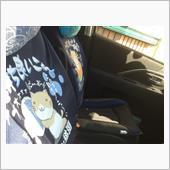 シートカバーのTシャツを夏バージョンに交換しました