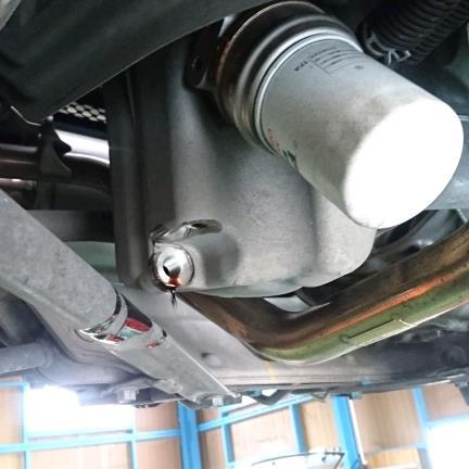 【16913km】エンジンオイル交換