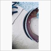 リアドラム ブレーキシュー・カップキット・ブレーキオイル交換の画像