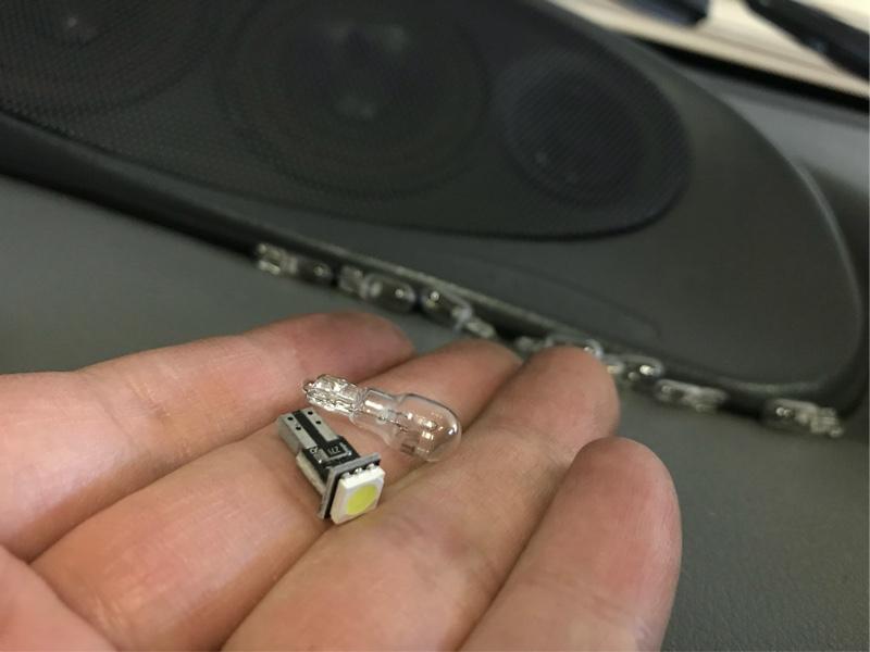 メーター照明LED化