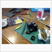 ルームランプスイッチ修理の画像