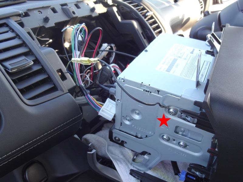 走行中のAV視聴制限の解除(その2 配線加工)