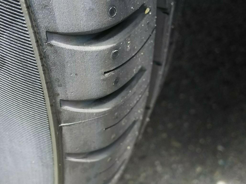 タイヤの賞味期限切れ。
