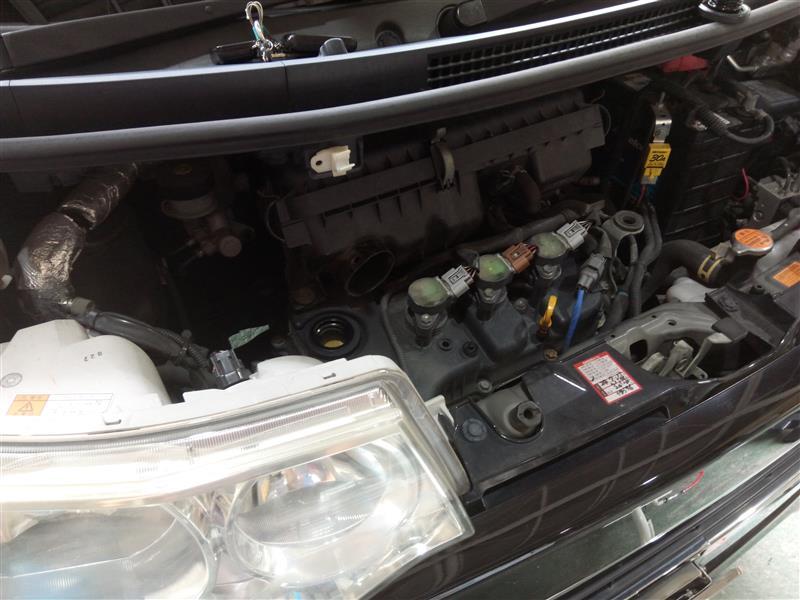 エンジン オイル タント 【ダイハツ・タント・LA600S】エンジンオイル交換