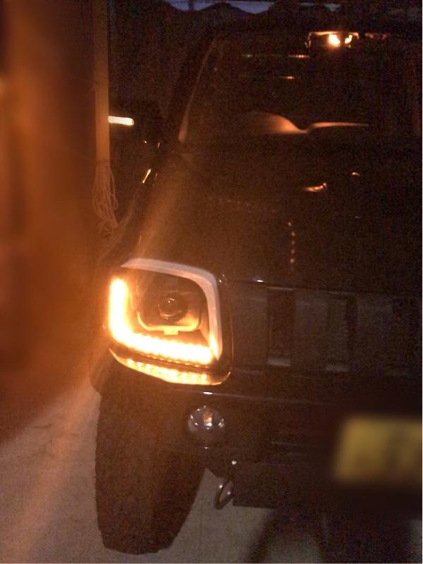ヘッドライト ウィンカー不点灯