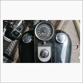 ハーレーメーターランプLEDに交換の画像