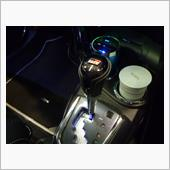 トヨタ純正 アクア GRスポーツ(17インチパッケージ用) シフトノブ取付の画像