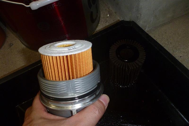 オイル&オイルフィルター交換(80911Km時)