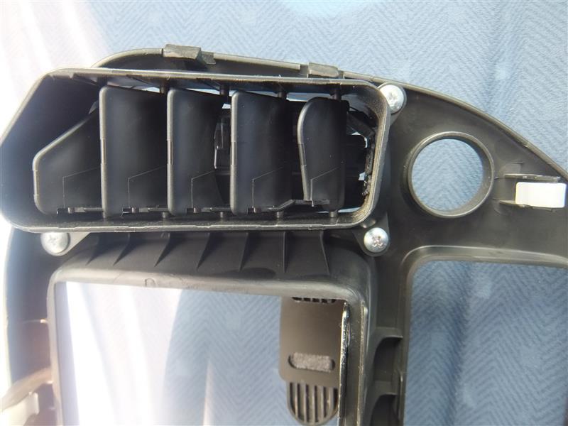 HN22SヶィKei エアコンルーバー破損→交換(左側編)