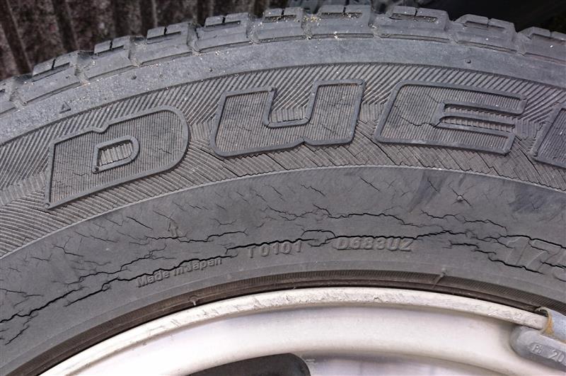 車検に向けてのタイヤ交換