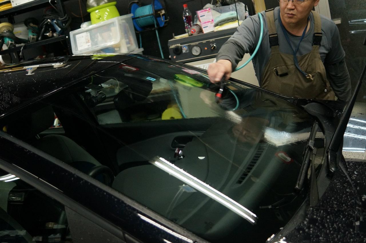 東京都よりふるさと納税施工 第一号 VW POLO GT ys special ver.2 施工にて