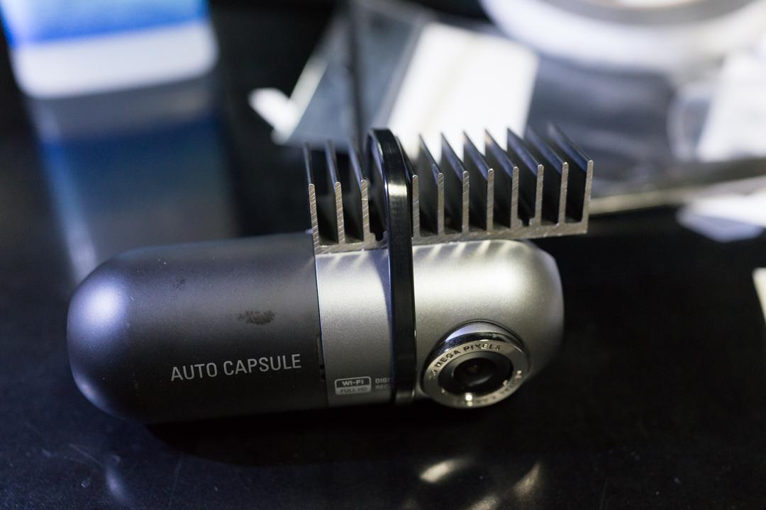 ドライブレコーダーの放熱処理